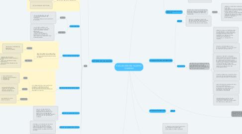Mind Map: EVALUACIÓN DEL TALENTO HUMANO