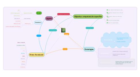 Mind Map: E-avaluació