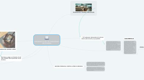 Mind Map: ARGUMENTOS DE LAS TRADICIONES DE CONTROL