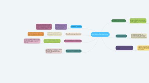 Mind Map: Los derechos de autor