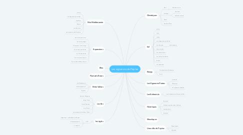 Mind Map: Les vignerons de Peyriac
