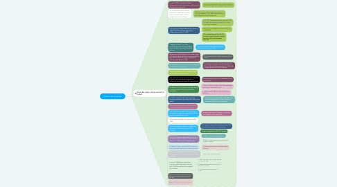 Mind Map: Castro's rise to power