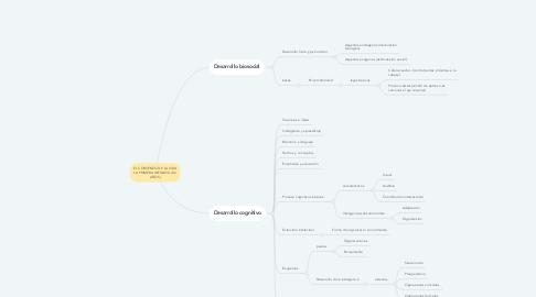 Mind Map: EL COMIENZO DE LA VIDA LA PRIMERA INFANCIA (0-2 AÑOS)