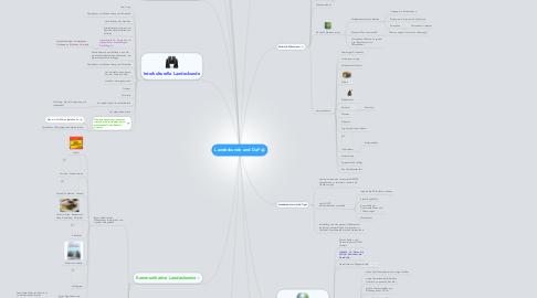 Mind Map: Landeskunde und DaF