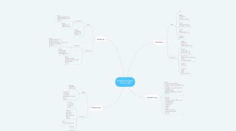 Mind Map: Mobilní zařízení S10+ x XS