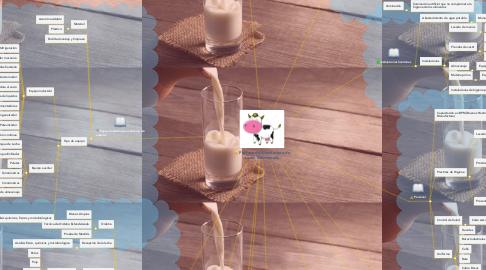 Mind Map: Proceso de Manufactura de Leche Descremada