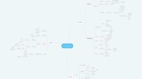 Mind Map: Memorias de Tafur Problemas Sociales