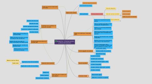 Mind Map: Módulo No. 4: Decisiones sobre políticas de inventarios