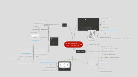 Mind Map: TEDxAmsterdam2011 Dr. ir. David Lentink