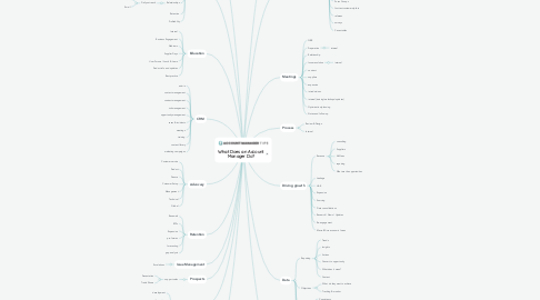 Mind Map: What Does an Account Manager Do?