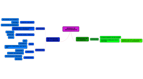 Mind Map: MEDIDAS DE ASEGURAMIENTO