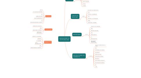 Mind Map: MECANISMO DE PARTCIPACION