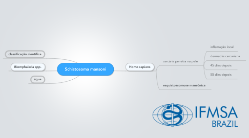 Mind Map: Schistosoma mansoni