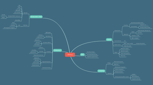 Mind Map: Offering
