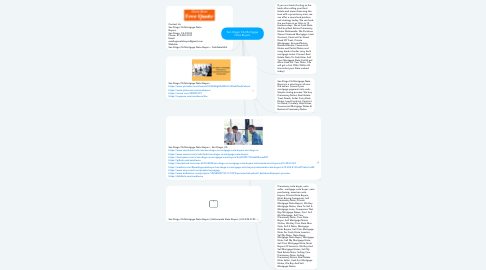 Mind Map: San Diego CA Mortgage Note Buyers
