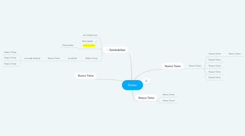 Mind Map: Rober