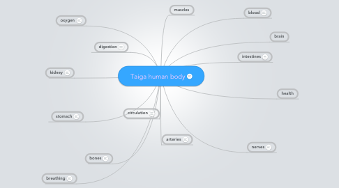 Mind Map: Taiga human body