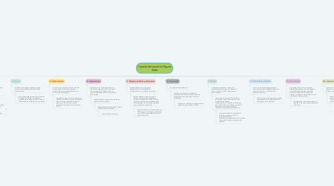 Mind Map: Características de la Página Web