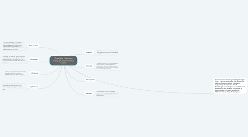 Mind Map: ''Snowplow Parents are ruining adulthood for their children''