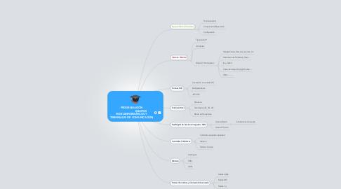 Mind Map: PROGRAMACIÓN                        EQUIPOS MICROINFORMÁTICOS Y TERMINALES DE COMUNICACIÓN