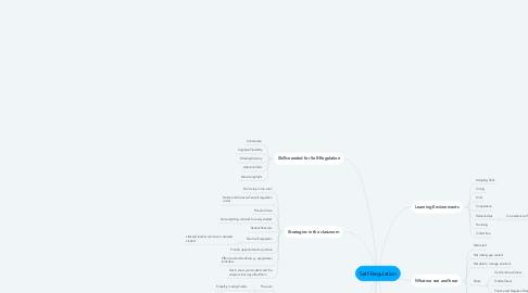 Mind Map: Self-Regulation