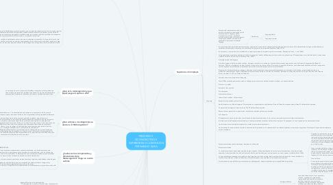 Mind Map: PROCESOS  COGNOSCITIVOS  SUPERIORES O COMPLEJOS FERNANDO ALBA