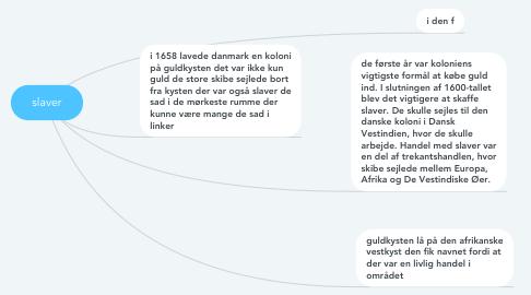 Mind Map: slaver