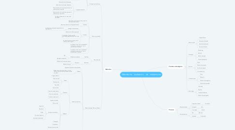 Mind Map: Métodosdelocalizacióndeinstalaciones