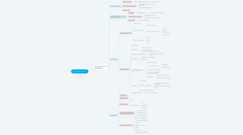 Mind Map: Kundenmanagement