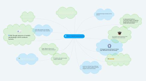 Mind Map: Psico. Social comunitaria