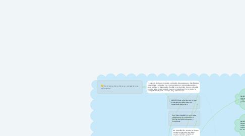 Mind Map: LAS COMPETENCIAS