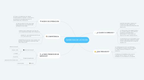 Mind Map: GASEOSA DE UCHUVA