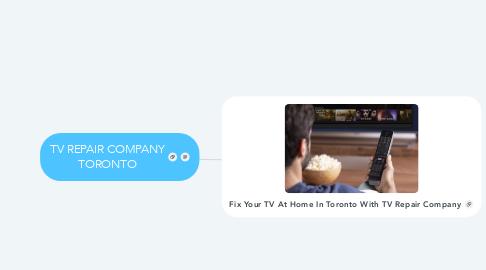 Mind Map: TV REPAIR COMPANY TORONTO