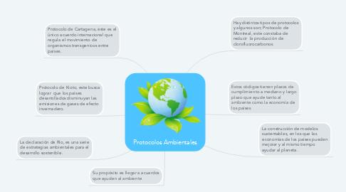 Mind Map: Protocolos Ambientales