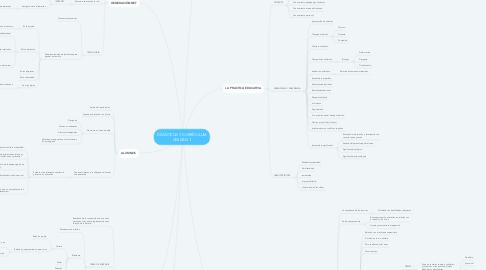 Mind Map: DIDÁCTICA Y CURRÍCULUM UNIDAD 1