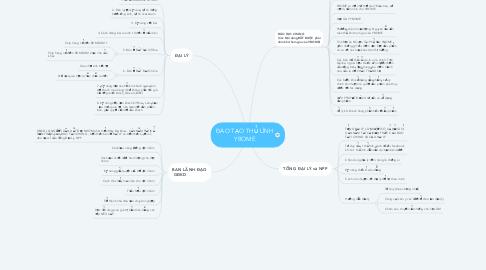 Mind Map: ĐÀO TẠO THỦ LĨNH YBOME