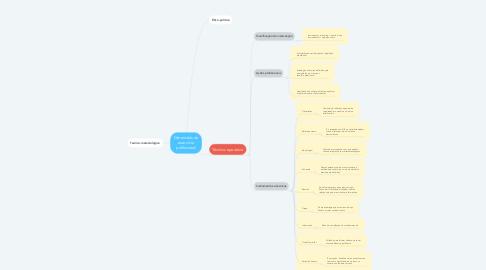 Mind Map: Dimensões do exercício profissional