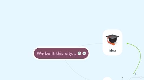 Mind Map: We built this city...