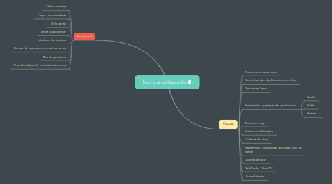Mind Map: les murs collaboratifs