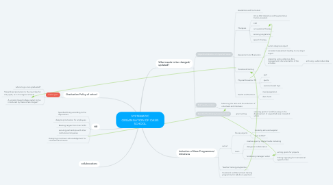 Mind Map: SYSTEMATIC ORGANISATION OF OASIS SCHOOL