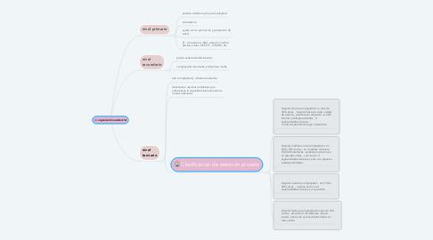 Mind Map: organización asistencial