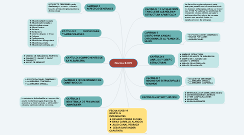 Mind Map: Norma E.070