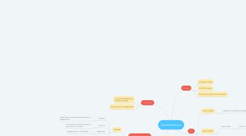 Mind Map: Carbohidratos