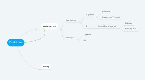 Mind Map: Produktion
