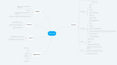 Mind Map: Budowa