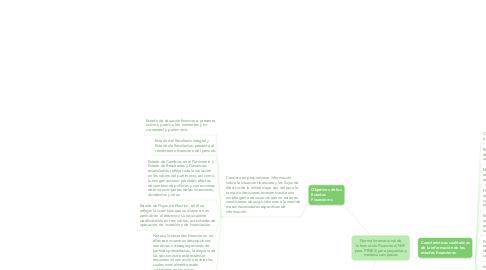 Mind Map: Norma Internacional de Información Financiera( NIIF para PYMES) para pequeñas y medianas empresas