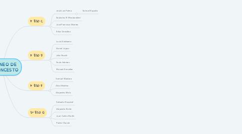 Mind Map: TORNEO DE BALONCESTO
