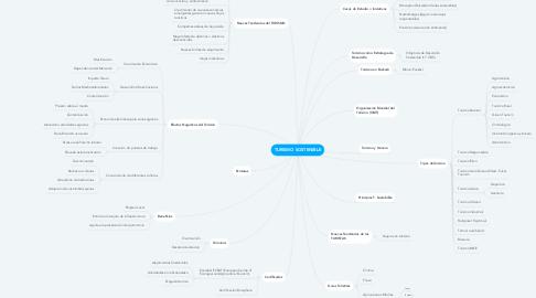 Mind Map: TURISMO SOSTENIBLE