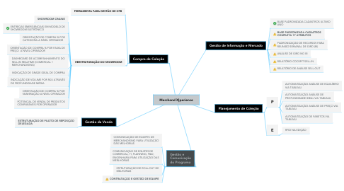 Mind Map: Merchand X|perience