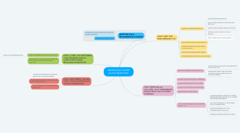 Mind Map: NEDERLAND ONDER DUITSE BEZETTING